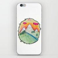 folk iPhone & iPod Skins featuring Folk by Oh Lapislazuli