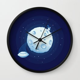 Invaders from Outer Space Wall Clock