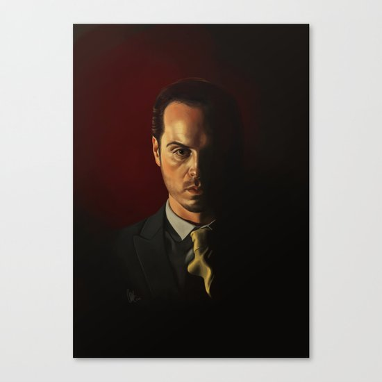IOU - Sherlock Canvas Print