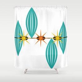 Mid-Century Modern Art 1.5 Shower Curtain