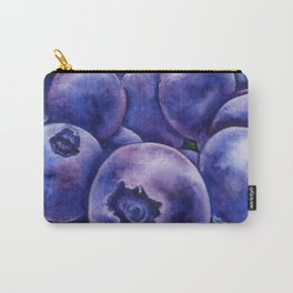 Fresh Blueberries Carry-All Pouch