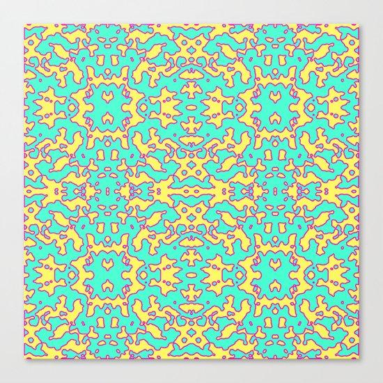 Electric Pattern Canvas Print