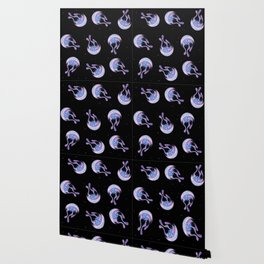 Moon jelly Wallpaper
