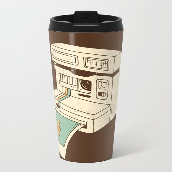 Insta gram Metal Travel Mug