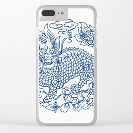 Chinese Kylin Clear iPhone Case