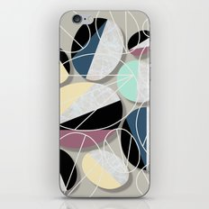 Stones and Outlines iPhone & iPod Skin
