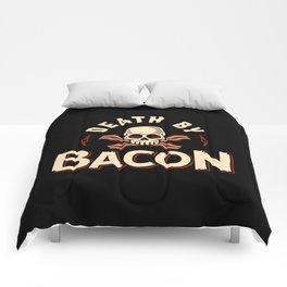 Death By Bacon Comforters
