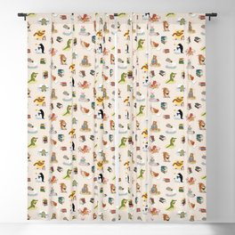 Animal Readers Blackout Curtain