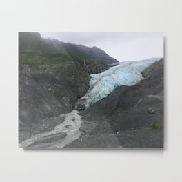 Evaporating Ancient Ice Metal Print