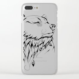 Poetic Bear Clear iPhone Case