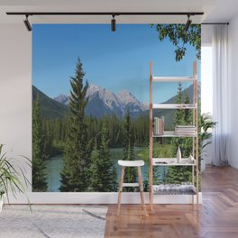 Along The Bow Valley Parkway Wall Mural