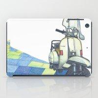 vespa iPad Cases featuring vespa by Miyuki Sakurai