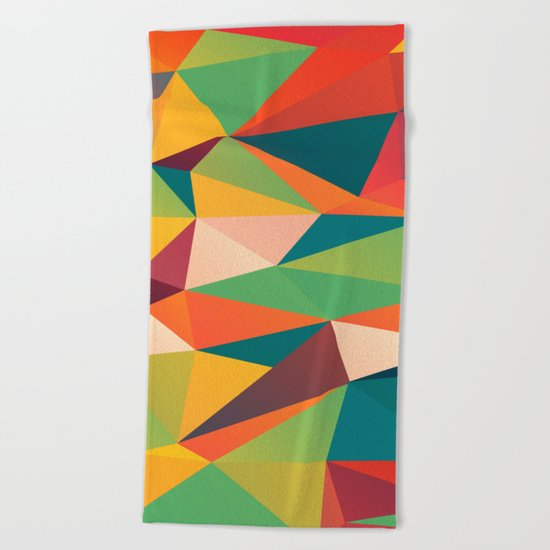 Geometric XIII Beach Towel