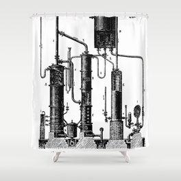 Brockhaus-Efron Distillery 5 Shower Curtain