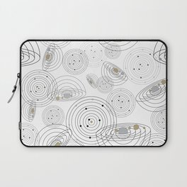 cosmic in white Laptop Sleeve