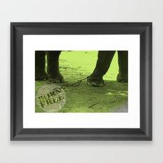 Born 2 be Free Framed Art Print