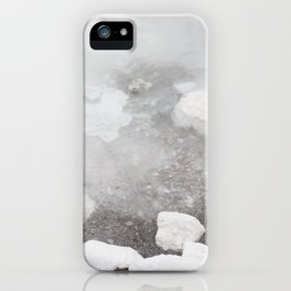 White water iPhone Case