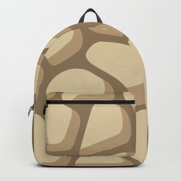 Pattern of painted stones #2 Backpack