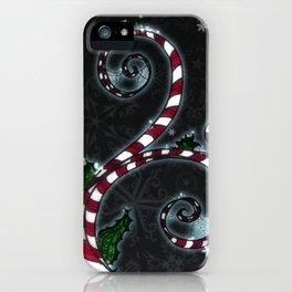 Candy Cane Vine iPhone Case