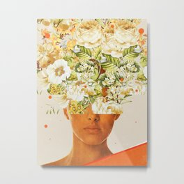 SuperFlowerHead Metal Print