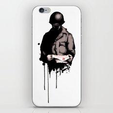 War Letter iPhone & iPod Skin