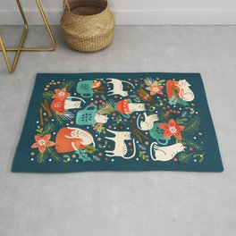Spicy Kittens Rug