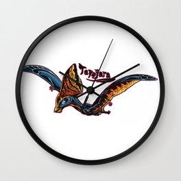 Tapejara (Archosaurs Series 1) Wall Clock