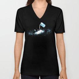 The Milky Way Unisex V-Neck