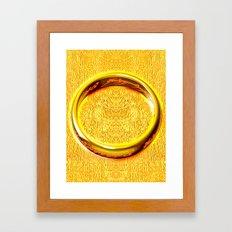 RING OF POWER Framed Art Print