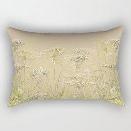 Wild flowers and weeds 2 Rectangular Pillow
