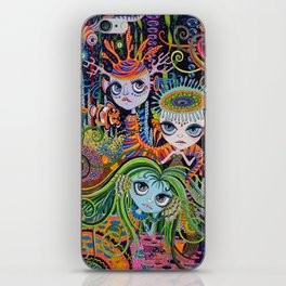 Sea Sprythes iPhone Skin