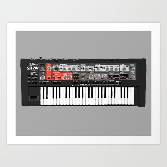 Roland SH-201 Art Print