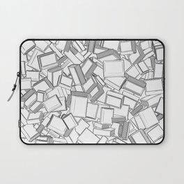 The Book Pile II Laptop Sleeve