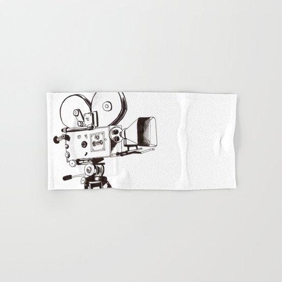 vintage filming Hand & Bath Towel
