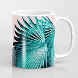 Fan Palm Leaves Paradise #4 #tropical #decor #art #society6 Coffee Mug