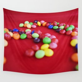 Skittles Swirls Wall Tapestry