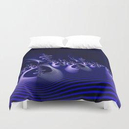 Shockwave Blue Duvet Cover