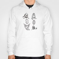 dc Hoodies featuring DC Eggs by peter glanting