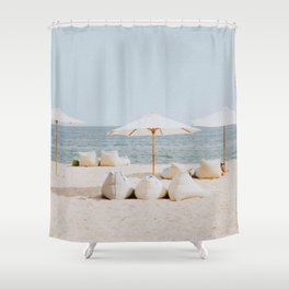 summer beach ii Shower Curtain