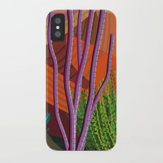 Cactus on Mountaintop Slim Case iPhone X