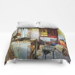 Old Fishermans Hut Comforters