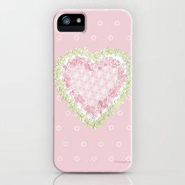 delicate heart  iPhone Case