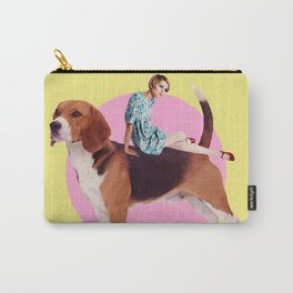 Twiggy and the Pups | Beagle Carry-All Pouch