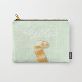 THIS IS THE WAY THAT A CAT SAY HELLO Carry-All Pouch