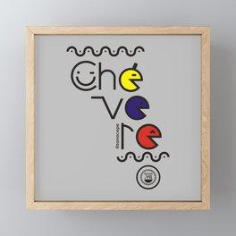 ¡Chévere Tricolor! Framed Mini Art Print