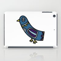 pigeon iPad Cases featuring pigeon by Rose Lee