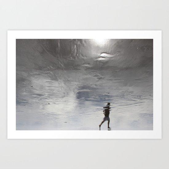 at the edge of a dream Art Print