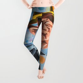 Not Clowning But Frowning Leggings