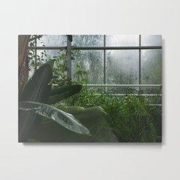 Endless plants everywhere Metal Print