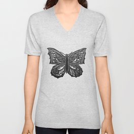 The Beauty in You - Butterfly #2 #drawing #decor #art #society6 Unisex V-Neck